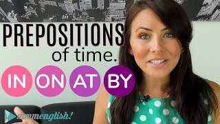 Prepositions of TIME 👉 IN / ON / AT / BY 👈 Common English Grammar Mistakes | Kholo.pk