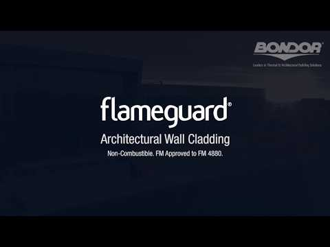 Bondor FlameGuard - Fire Rated Wall - Non-Combustible