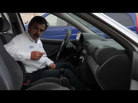 Sin el cinturón el coche no arranca