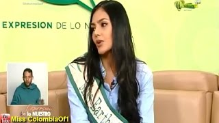 Estefanía Muñoz, Miss Earth Colombia 2015