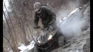 preview picture of video 'yamaha wolverine 450 4x4 atv stalowa wola'