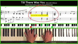 Till There Was You - jazz piano tutorial