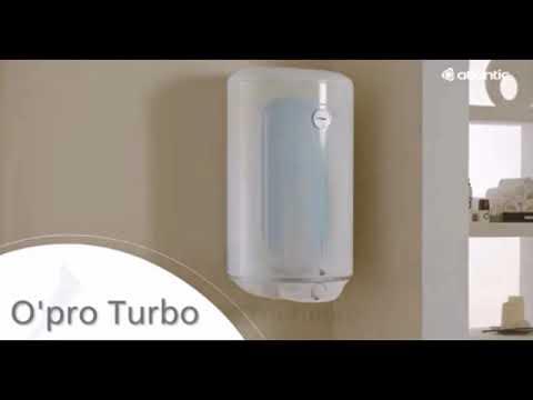 Накопительный водонагреватель Atlantic OPRO TURBO VM 050 D400-2-B Video #1
