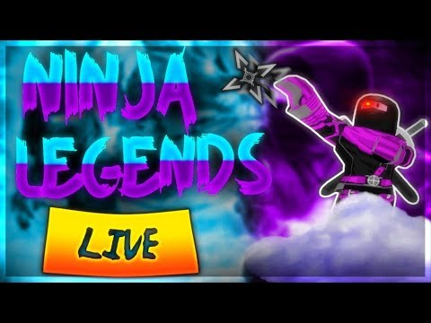 Roblox Live - Ninja Legends - Evolved Pets - Occasional Immortal Giveaways - !join - !Watchtime