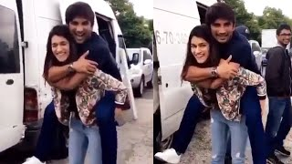 Kriti Sanon LIFTS Sushant Singh Rajput During Raabta Movie | Throwback Video
