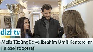 Melis Tüzüngüç ve İbrahim Ümit Kantarcılar ile özel röportaj - Dizi Tv 586. Bölüm