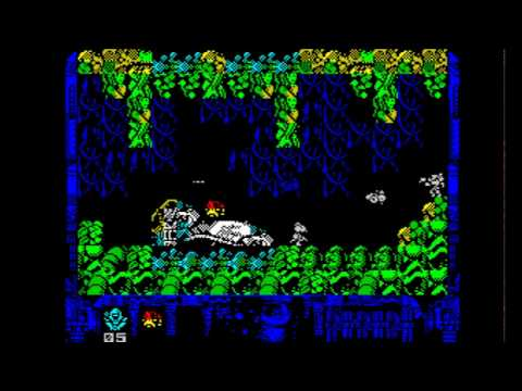 Harbinger – Convergence Walkthrough, ZX Spectrum