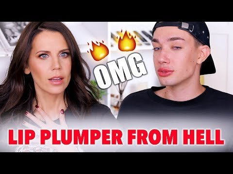 MOST PAINFUL LIP PLUMPER EVER ... OMG!!!