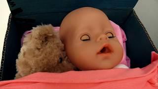 Веселая Школа. Беби Бон ложится спать. Видео для детей.