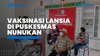 Puluhan Lansia Ikut Vaksinasi Covid-19 di Puskemas Nunukan, Rina Rante: Biasa Saja