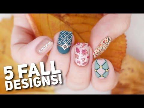 5 Matte Nail Art Designs For FALL! ?