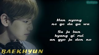 BAEKHYUN (EXO) - Beautiful (EXO NEXT DOOR OST) [Easy-Lyrics]
