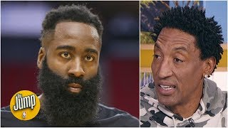 Reacting to James Harden trash-talking Giannis (probably) with 'no skill at all' comment | The Jump