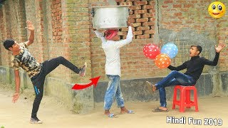 Indian New funny Video😄-😅Hindi Comedy Videos 2019-Episode-84--Indian Fun    ME Tv