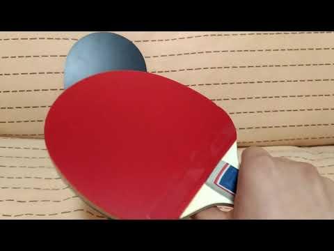 Короткий обзор ракеток из набора для настольного тенниса DOUBLE FISH СК-303