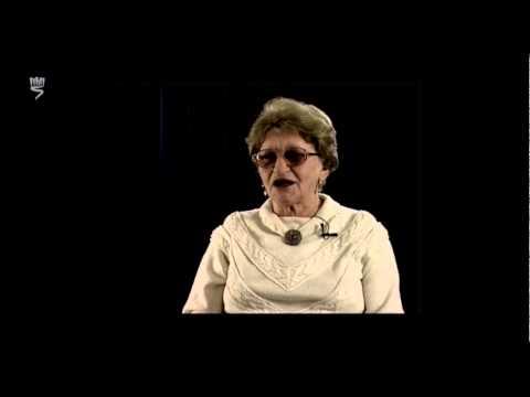 שרה לברון, ניצולת שואה מדומברובה גורניצ'ה שבפולין, מספרת על החיים היהודים בעיר לפני השואה