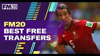 Best Football Manager 2020 Free Transfers (video)