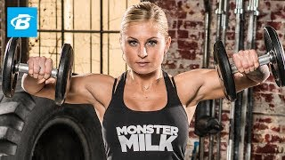 Brittany Tacy's Bikini Pro Shoulder Workout by Bodybuilding.com