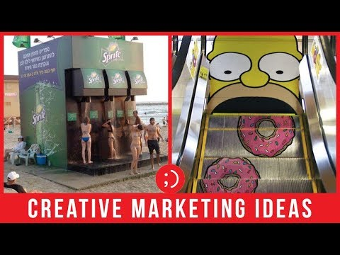 Top 47 Creative Marketing Advertisement Ideas | Guerrilla Marketing and Advertising Ideas for Brands