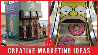 47 Creative Marketing And Guerilla Marketing Ideas Slideshow
