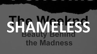 Shameless   The Weeknd [tribute Cover By Molotov Cocktail Piano]