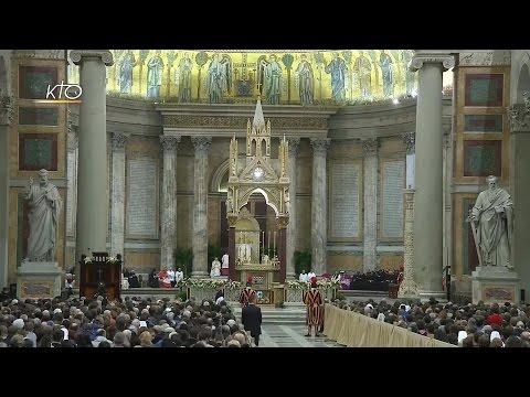 Vêpres avec le Pape - Fête de la conversion de saint Paul 2017