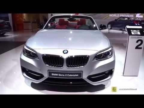 2015 BMW 2-Series 228i Cabriolet - Exterior and Interior Walkaround - 2014 Paris Auto Show