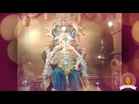 Kiran Raut Home Ganpati Decoration Video