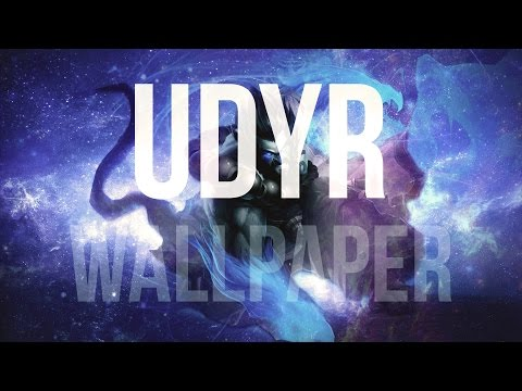 Wallpaper in Photoshop - League of Legends (Udyr speedart)