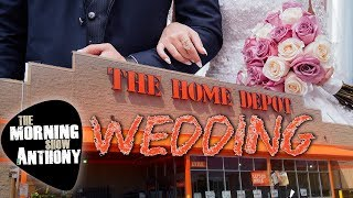 Get Married at Home Depot