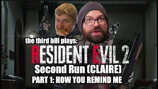 RE2 Second Run (Claire) Let's Play! Part 1