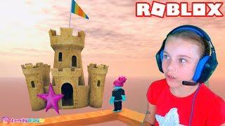 ПОБЕГ ИЗ ЗАМКА в Роблокс приключение мульт героя в замке Roblox