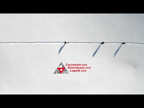 Gletscherabfahrt Diavolezza