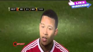 Manchester United Vs Midtjylland 5  1 Europa League 25022016