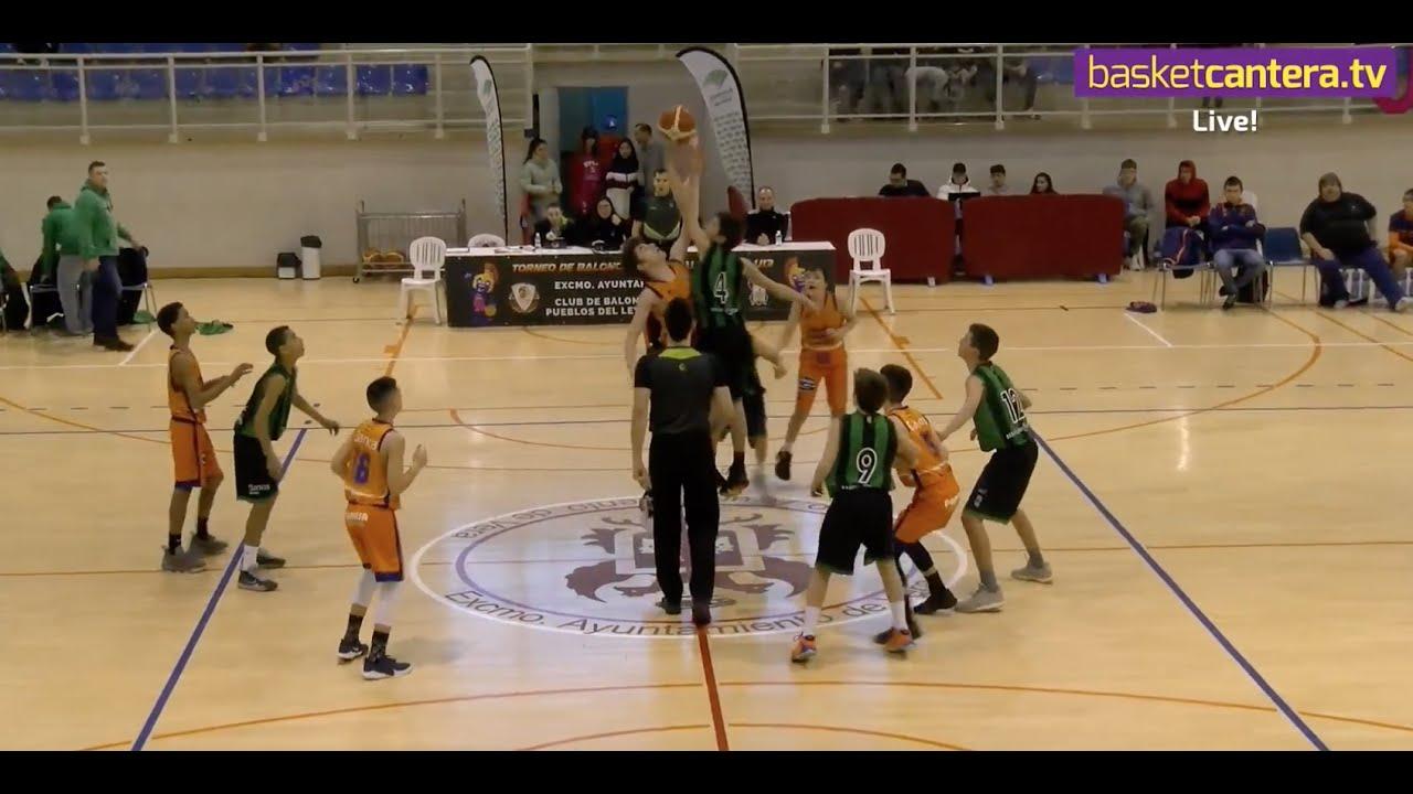 U13M - VALENCIA BASKET vs JOVENTUT BADALONA.- III Torneo Ciudad de Vera (BasketCantera.TV)