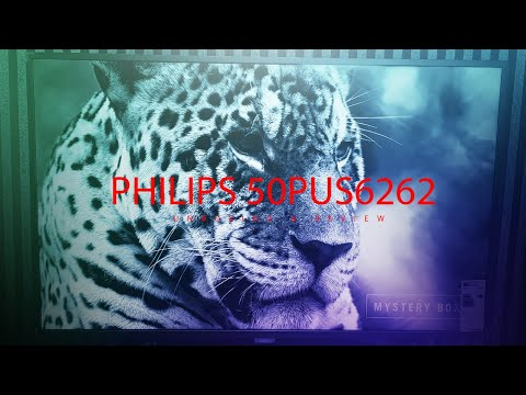 PHILIPS 50PUS6262 UHD 4K TV // Unboxing & Review