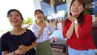 Познакомился с тремя японками. Сказал, что я из России. Такой реакции я точно не ожидал!