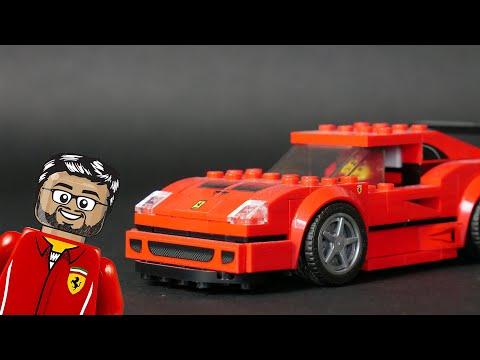 Vidéo LEGO Speed Champions 75890 : Ferrari F40 Competizione