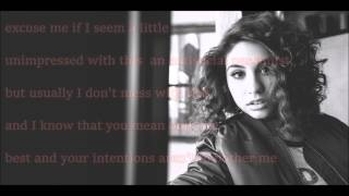 Here- Lyrics Alessia Cara Acoustic