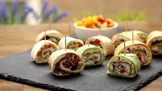 Appetizer Recipes - How to Make Party Pinwheels