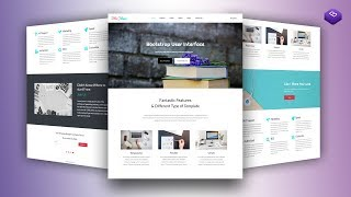 Responsive Bootstrap Website Start to Finish with Bootstrap 4.1.2, HTML5 & CSS3 From Scratch