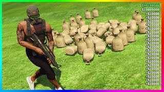 $1,200,000 Every 15Mins In GTA 5 Online Solo Unlimited Money Glitch! [NO REQUIREMENTS] (PS4/XBOX/PC)