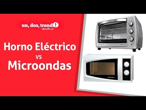 ¿Horno eléctrico o microondas?