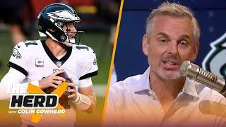Eagles' win shows Wentz is a franchise QB, talks Cowboys' 1-3 season start —Colin | NFL | THE HERD