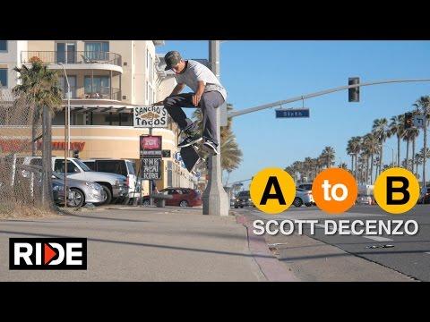 Video Scott DeCenzo Skates Huntington Beach, CA - A to B