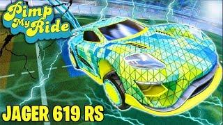 PIMP MY ROCKET LEAGUE RIDE - JAGER 619 RS