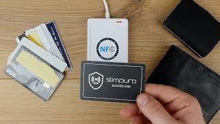 Slimpuro RFID Blocker Card FAQ - RFID Schutz beim Iclip nachrüsten? // DEUTSCH