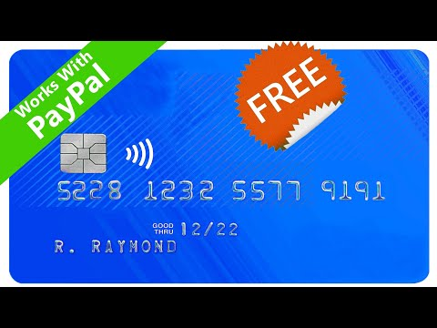 , title : 'How to get a FREE Virtual Card without any Bank Account - International Virtual Card for PayPal