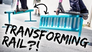 Unboxing and Testing the Transformer Rail! │ The Vault Pro Scooters