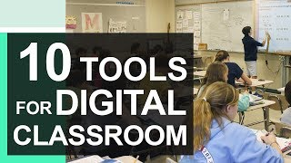 Top 10 Tools For The Digital Classroom 2020 | Digital Tools For Teachers | Education Technology